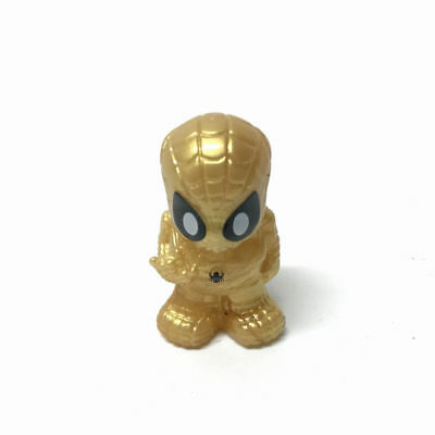 """LIMITED EDITION OOSHIES GOLDEN SPIDERMAN Marvel collect 1.5"""" Figure Toy Gift"""