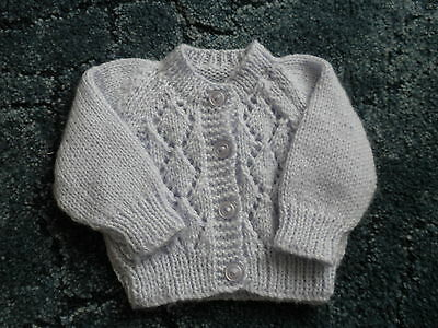 Baby Cardigan in Lilac 0-3 Months