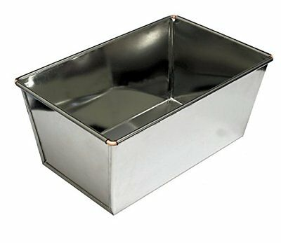 4lb Loaf Tin, Heavy Duty, Tinplate, Ideal For Farmhouse   Large Loaves By Lets C