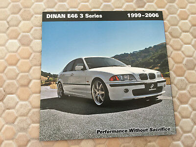 Bmw Dinan E46 3 Series Performance Upgrade Brochure 1999 - 2006 Usa Edition