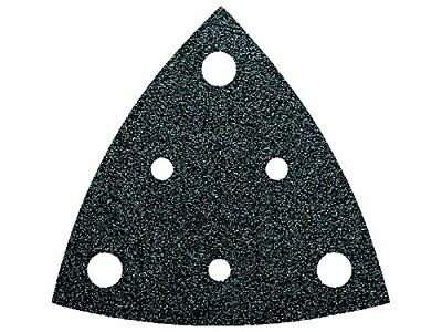 63717116016 240 Grit Triangular Perforated Sanding Sheet, Multi-Colour