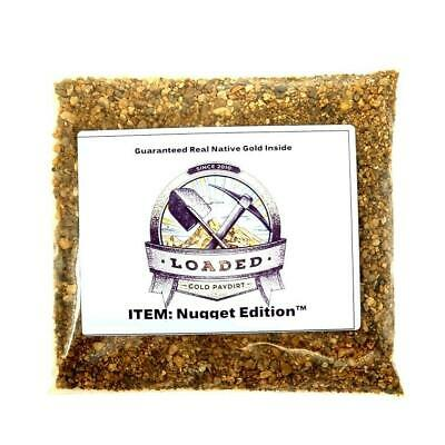 NUGGET EDITION - Gold Paydirt Concentrate - Guaranteed GOLD Panning Pay Dirt