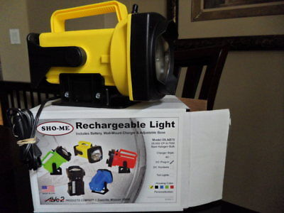 SHO-ME  Rechargeable DC Plug-In (for Vehicle) Halogen Spot Light /Flashlight