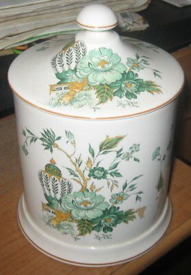 Crown Stafffordshire Kowloon Covered Jar 7 5/8""