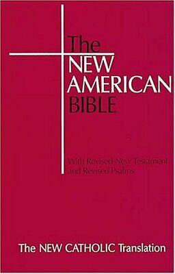 Bible: New American Bible Paperback Book The Cheap Fast Free Post