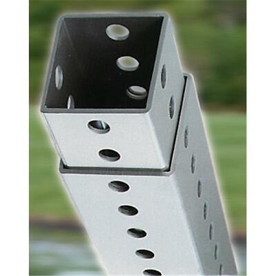 Dogipot 1301-P Steel Telescopic Square Mounting Post - 4-8 Ft. Height