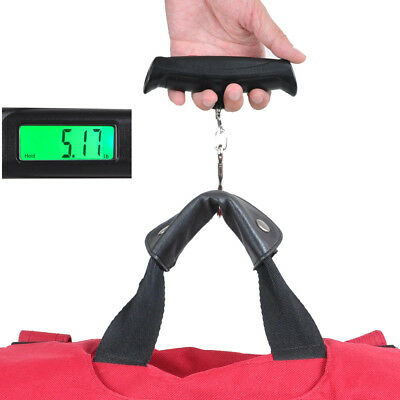 Portable 50kg/10g LCD Digital Fish Hanging Luggage Weight Electronic Hook Scale