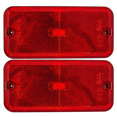 New Pair Set Rear Park Signal Side Marker Light Lamp 85-96 GMC Chevrolet Van