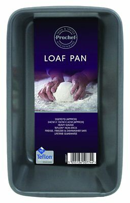 2lb Loaf Pan/Tin, Premium Quality, Easy to Clean, with Teflon Innovations Silico