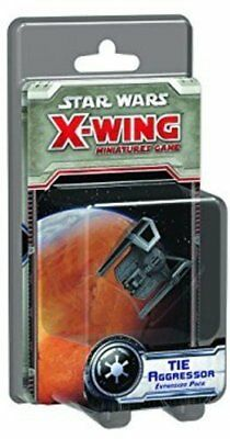 FFGSWX66 TIE Aggressor Expansion Pack: X-Wing Miniatures Star Wars Game, Multi-C