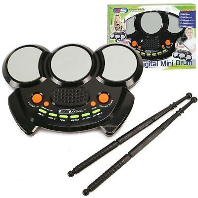 Kids Digital Mini Electronic Drum Set & Drumsticks Musical Instrument Toy