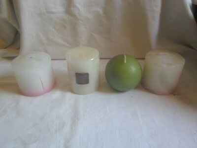 NEW Lot of 4 Assorted Candles