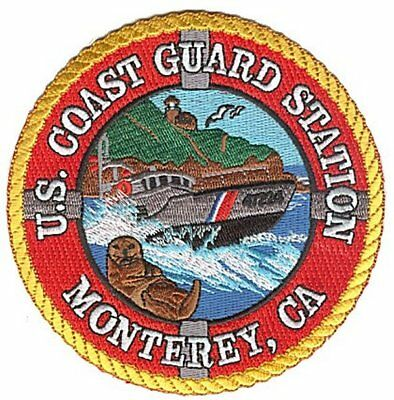 Station Monterey California  sea otter W5246 USCG Coast Guard patch