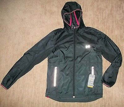 UNDER ARMOUR UA Performance Reflective Hooded Running JACKET Mens Sz SMALL NEW