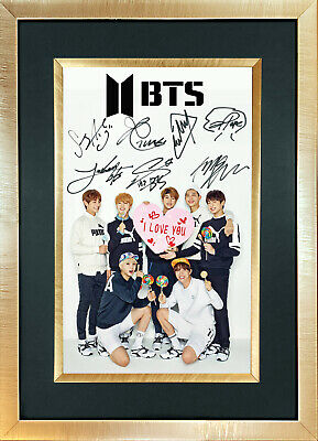BTS #3 Boy Band J-Hope Quality Autograph Mounted Signed Photo RePrint Poster 761
