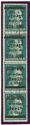 Austria local issue Losenstein 42 Pfg. tete-beche ey58