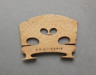 W.E Hill & Sons England Violin Bridge Replacement Part Vintage Music Instrument