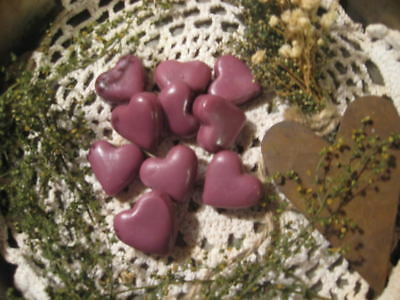 Prim* Handmade* Mixed Scented Tarts* Hearts* Bowl Fillers* Wax Melts* Valentine