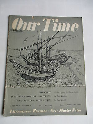 February 1948 Our Time Magazine Theatre Film Books Art Edith Sitwell
