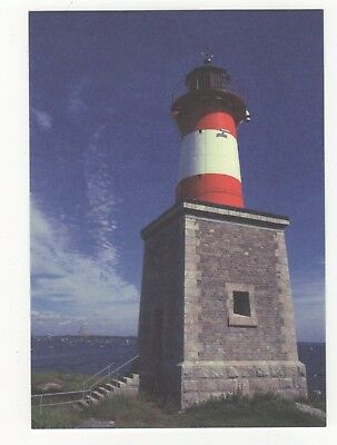 Harmaja Grahara Lighthouse Finland Postcard 890b