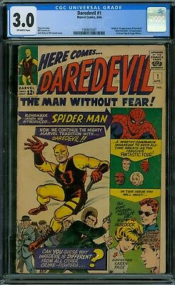 Daredevil 1 CGC 3.0 - OW Pages