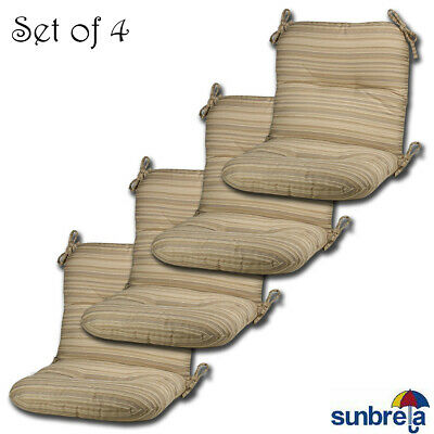 Comfort Classics Inc Indoor Outdoor Sunbrella Lounge Chair Cushion Set Of 4