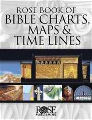 Rose Publishing 330224 Rose Book Of Bible Charts Maps & Time Lines