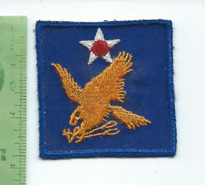 WWII 2nd AAF Air Force patch  embroidered on twill