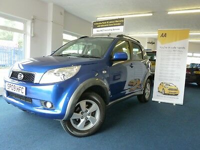 09 Reg Daihatsu Terios 1.5 Sx 4X4,only 102000 Warranted Miles,2 Owners From New.