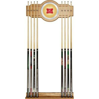 Officially Licensed - Miller High Life Pool Cue Stick Wall Rack - Billiards