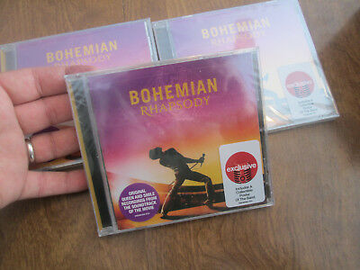 Queen Bohemian Rhapsody CD 2018 Target INCLUDES COLLECTIBLE POSTER OF THE BAND