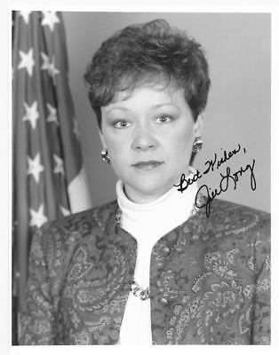 Congresswoman Jill Long Signed 7X9 B&w Photo Autographed Indiana