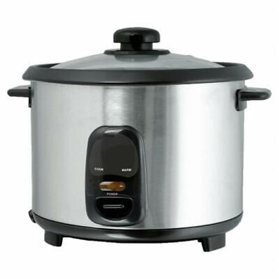Brentwood TS-10 5 Cup - 1.0 Liter - Rice Cooker - Stainless Steel