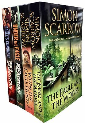 Eagles of the Empire Series Simon Scarrow 4 Books Collection Set Conquest Wolves