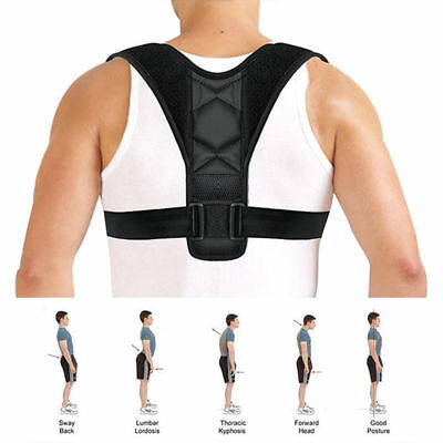 Good Posture Clavicle Support Corrector Straight Shoulders Brace Strap Back