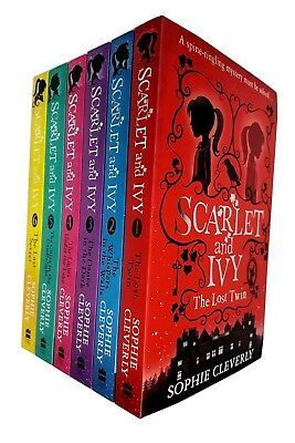 Scarlet and Ivy Collection Sophie Cleverly 5 Books Box Set Pack Lost Twins NEW