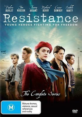 Resistance The Complete Series (DVD, 2017, 2-Disc Set) BRAND NEW SEALED