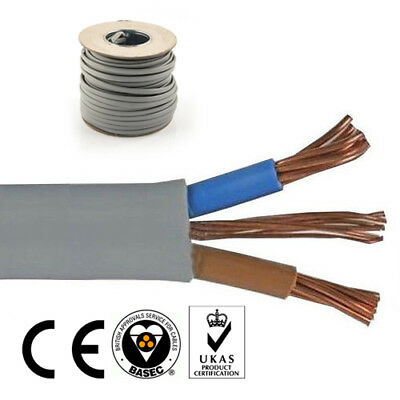 6mm Twin and Earth Electric Cable 2 Core Electrical 6242Y Wire Cooker Appliances