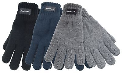 HeatGuard Kids Thinsulate lined Knitted Gloves