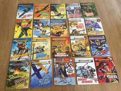 LOT OF 20 x COMMANDO PICTURE LIBRARY COMICS LOT 2