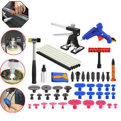 PDR Paintless Dent Repair Removal Tools Dent Lifter & Puller T-Bar Tap Down Kit