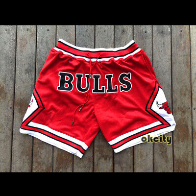premium selection bd3b8 3eac4 CHICAGO BULLS MICHAEL Jordan MJ Derrick Rose 1997-98 NBA Men Shorts Pants  Jersey