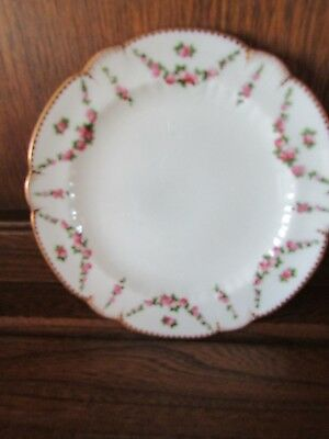 George Jones Creascent China. Victorian?Stunning 15cms Tea/Side plate Rose swags