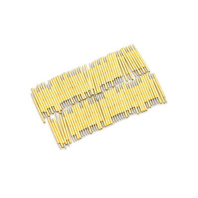 100PC P75-B1 Dia 1.02mm 100g Cusp Spear Spring Loaded Test Probes Pogo Pins tool