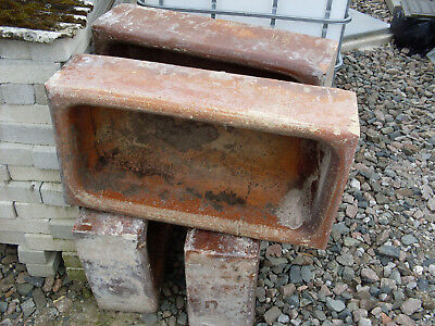 old feed troughs planters  flour potts