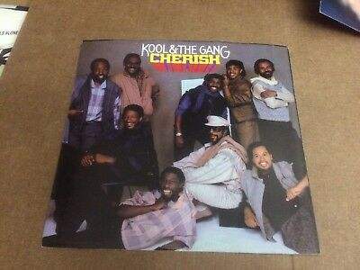"Kool And The Gang Cherish  Pic Sleeve Only No Record  7""  P"