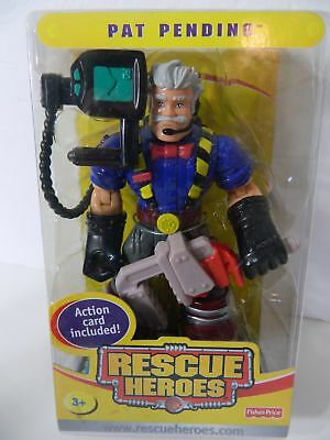2004 RESCUE HEROES COLLECTIBLE PAT PENDING ACTION CARD Special Edition NEW H3999