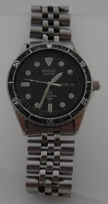 Vintage Seiko Sports 150 Divers Quartz Watch Not Working/Spares/Repairs(SP139
