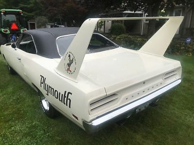 1970 Plymouth Road Runner Super Bird BARN FIND 1970 Plymouth Super Bird Road Runner Alpine White Original BARN FIND