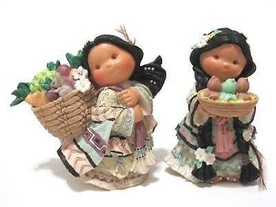 Friends Of The Feather Walks With Spring In Her Step & Little Mother Hen Enesco